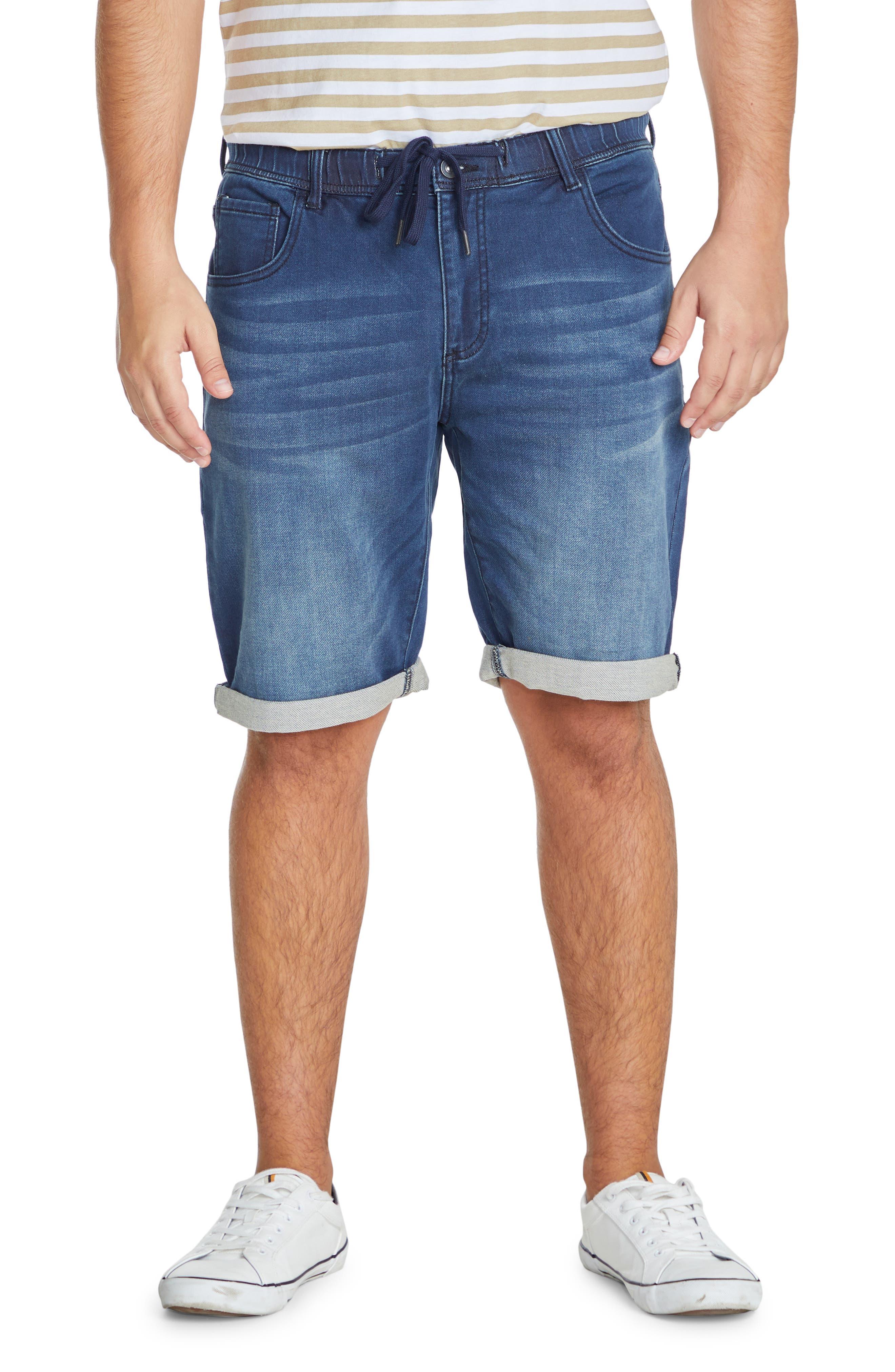Deran Drawstring Denim Shorts