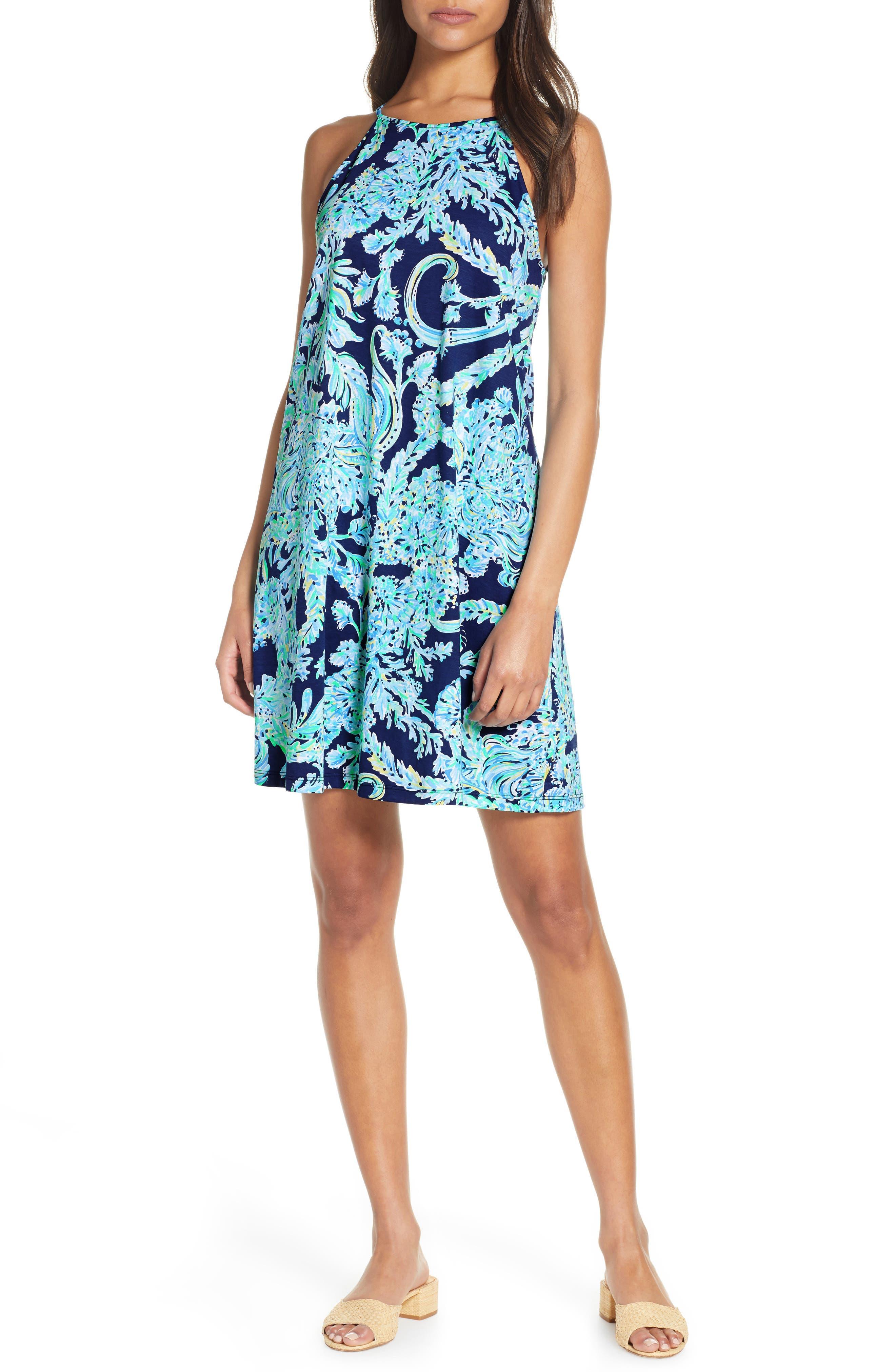 Lilly Pulitzer Margot Swing Dress, Blue