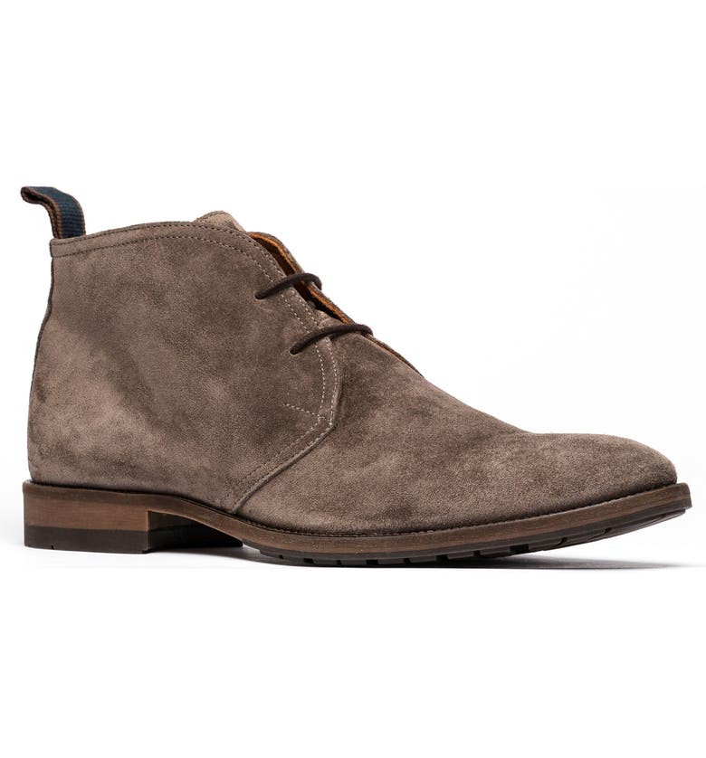 RODD & GUNN Pebbly Hill Chukka Boot, Main, color, TAUPE