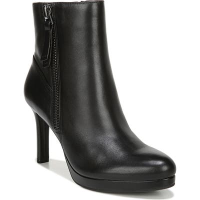 Naturalizer Tiana Platform Boot- Black