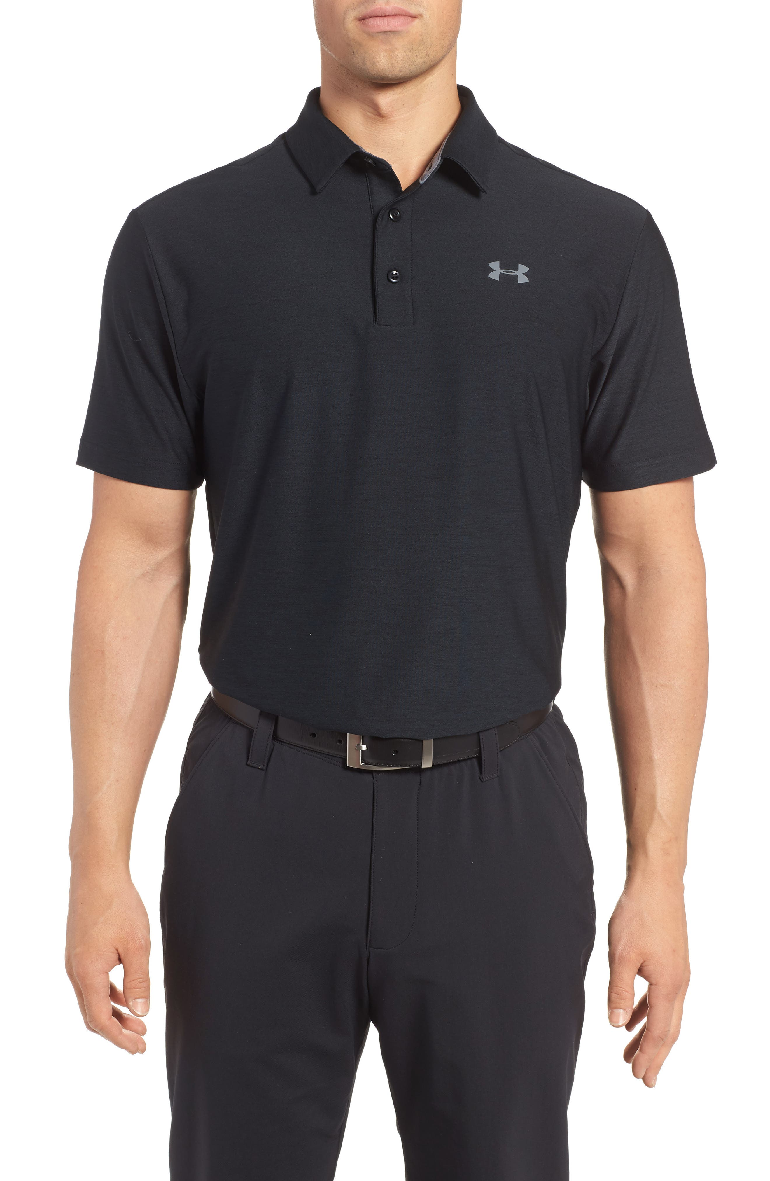 ,                             'Playoff' Loose Fit Short Sleeve Polo,                             Main thumbnail 99, color,                             001