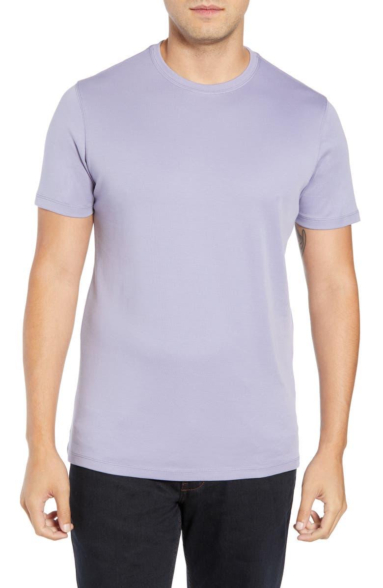 ROBERT BARAKETT Georgia Crewneck T-Shirt, Main, color, GRAPE