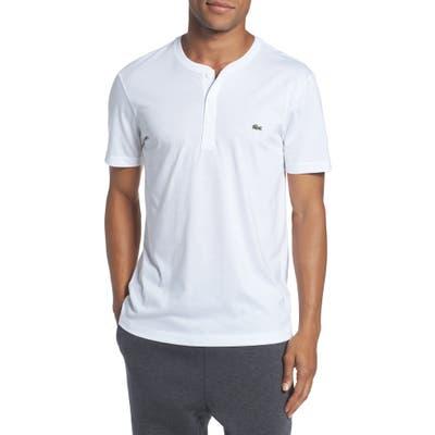 Lacoste Regular Fit Henley T-Shirt, White