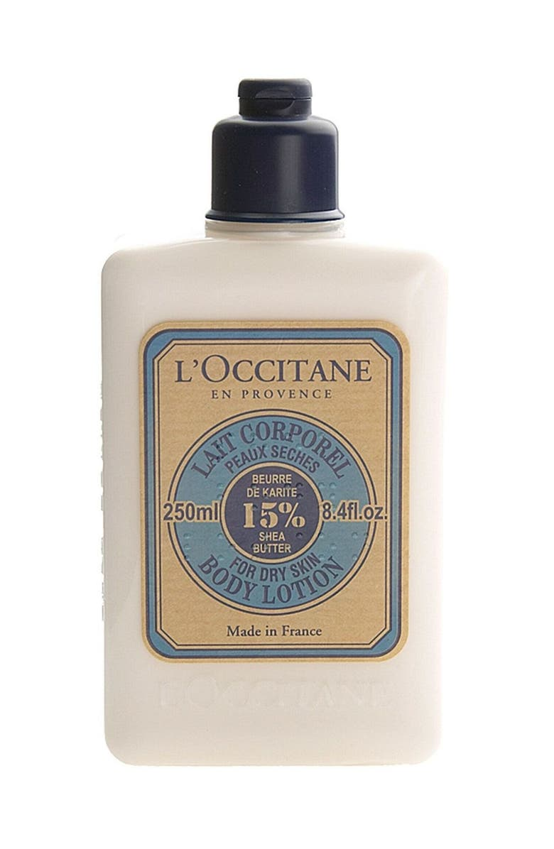 L'OCCITANE Shea Butter Body Lotion, Main, color, 000