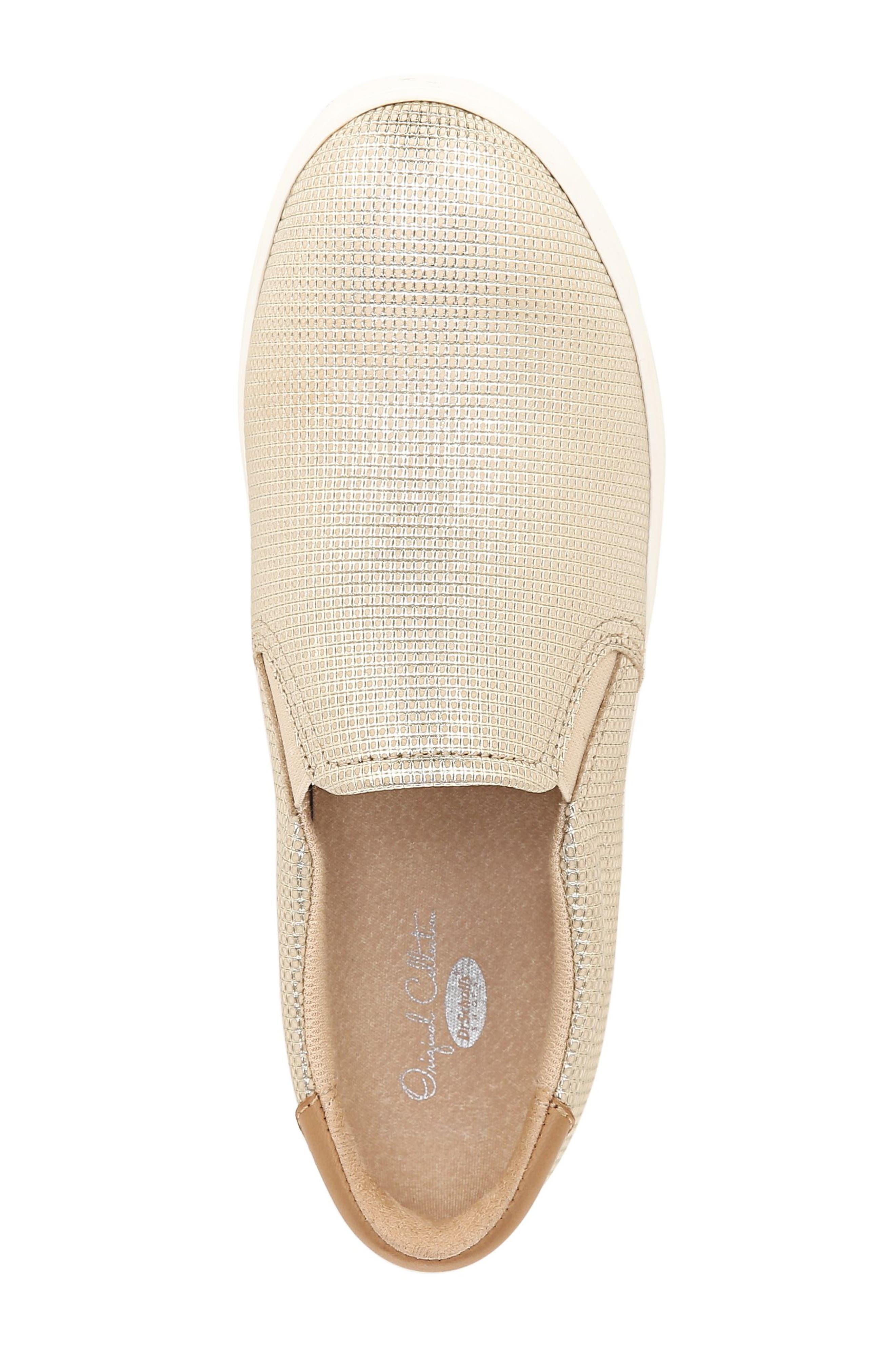 ,                             Original Collection 'Scout' Slip On Sneaker,                             Alternate thumbnail 5, color,                             BEIGE LEATHER