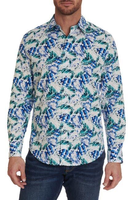 Image of Robert Graham Cuban Sunset Long Sleeve Regular Fit Woven Shirt