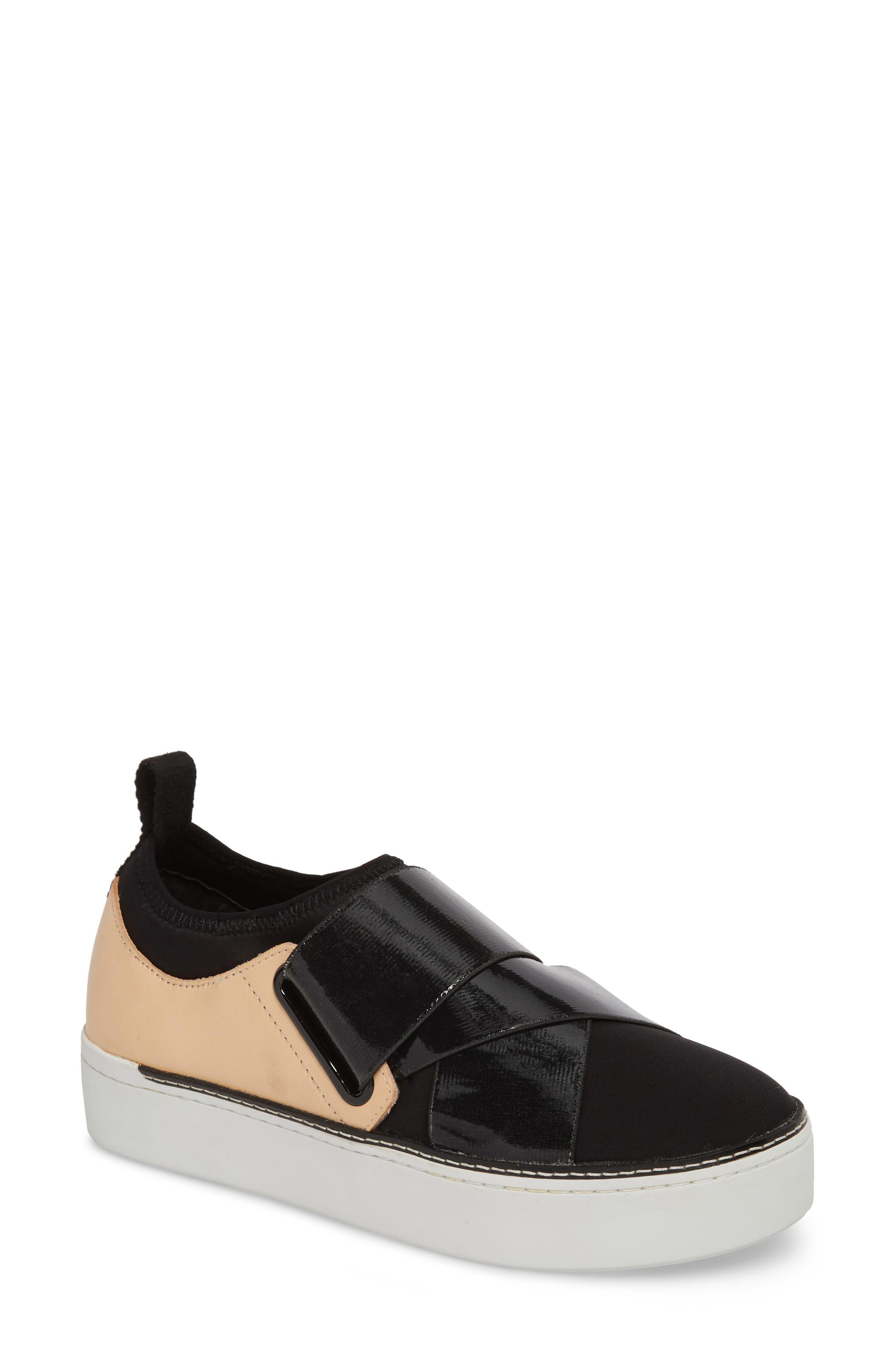 M4D3 Shannon Platform Sneaker- Black