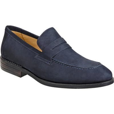 Sandro Moscoloni Antoine Penny Loafer - Blue