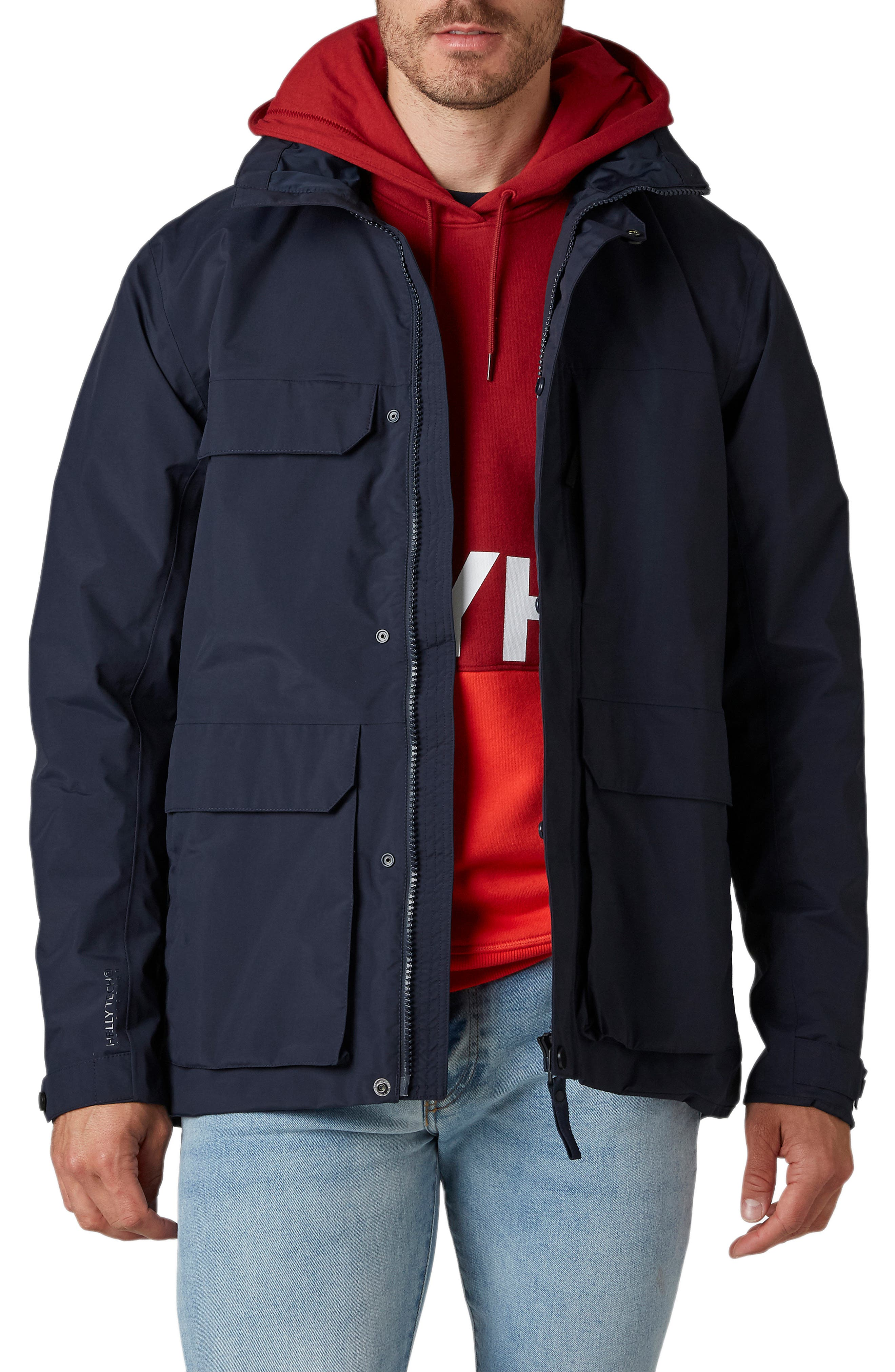 Waterproof Utility Rain Jacket