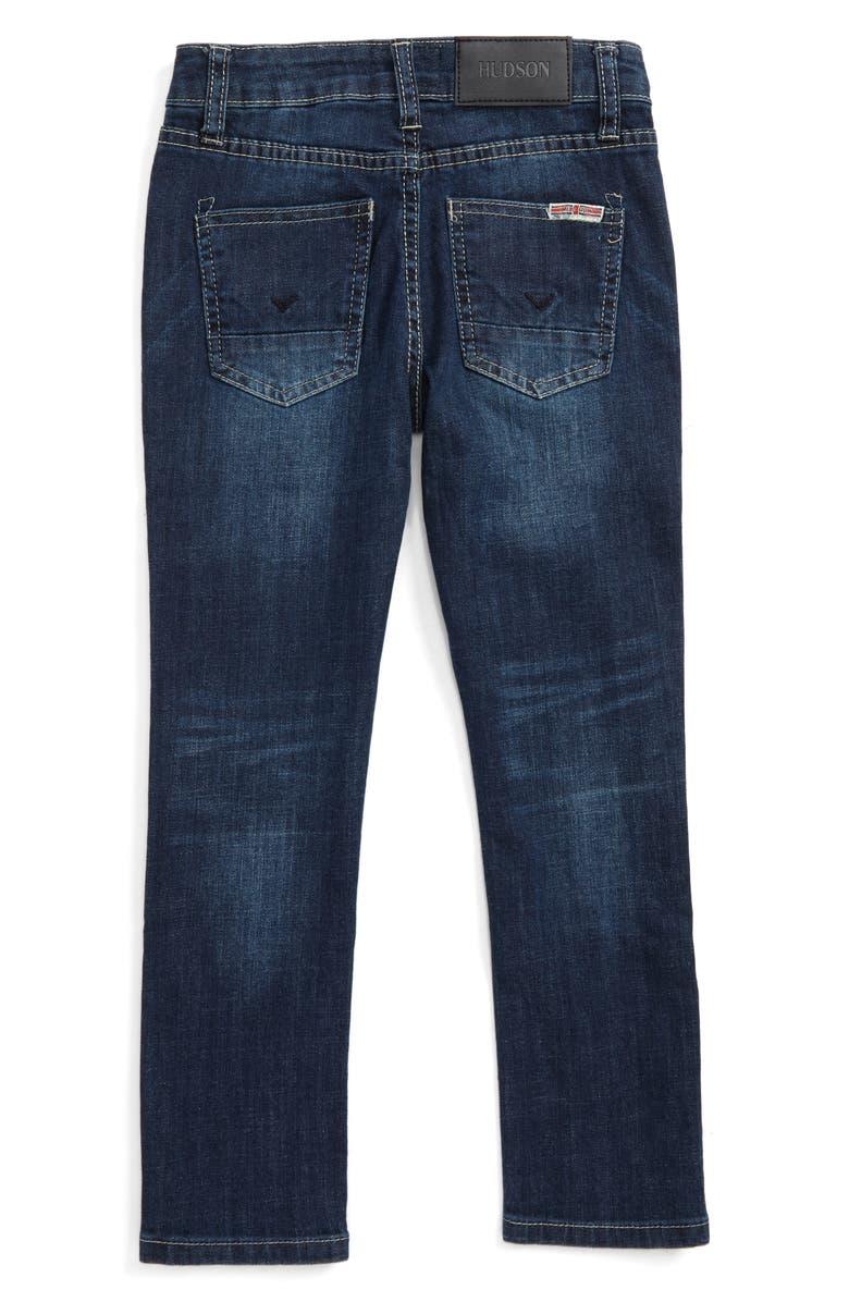 HUDSON KIDS Jude Slim Straight Leg Jeans, Main, color, 497