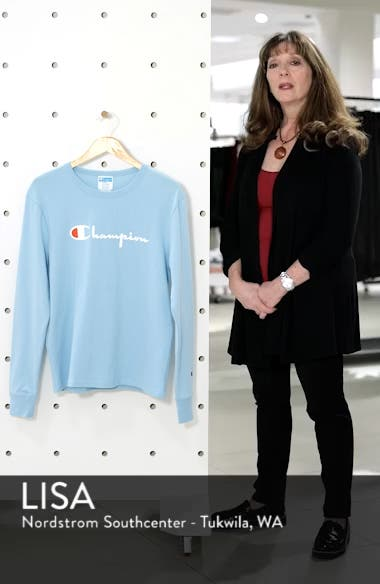 The Boyfriend Long Sleeve Graphic Tee, sales video thumbnail