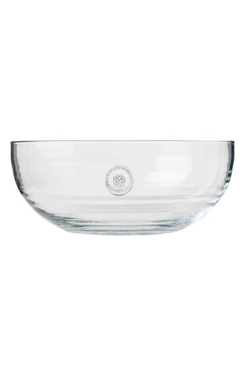 JULISKA Berry & Thread Large Glass Bowl, Main, color, 100