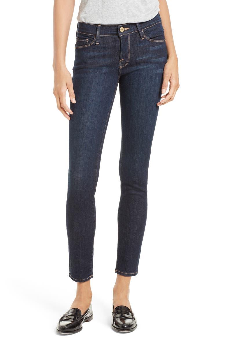 FRAME Le Skinny de Jeanne Jeans, Main, color, QUEENSWAY
