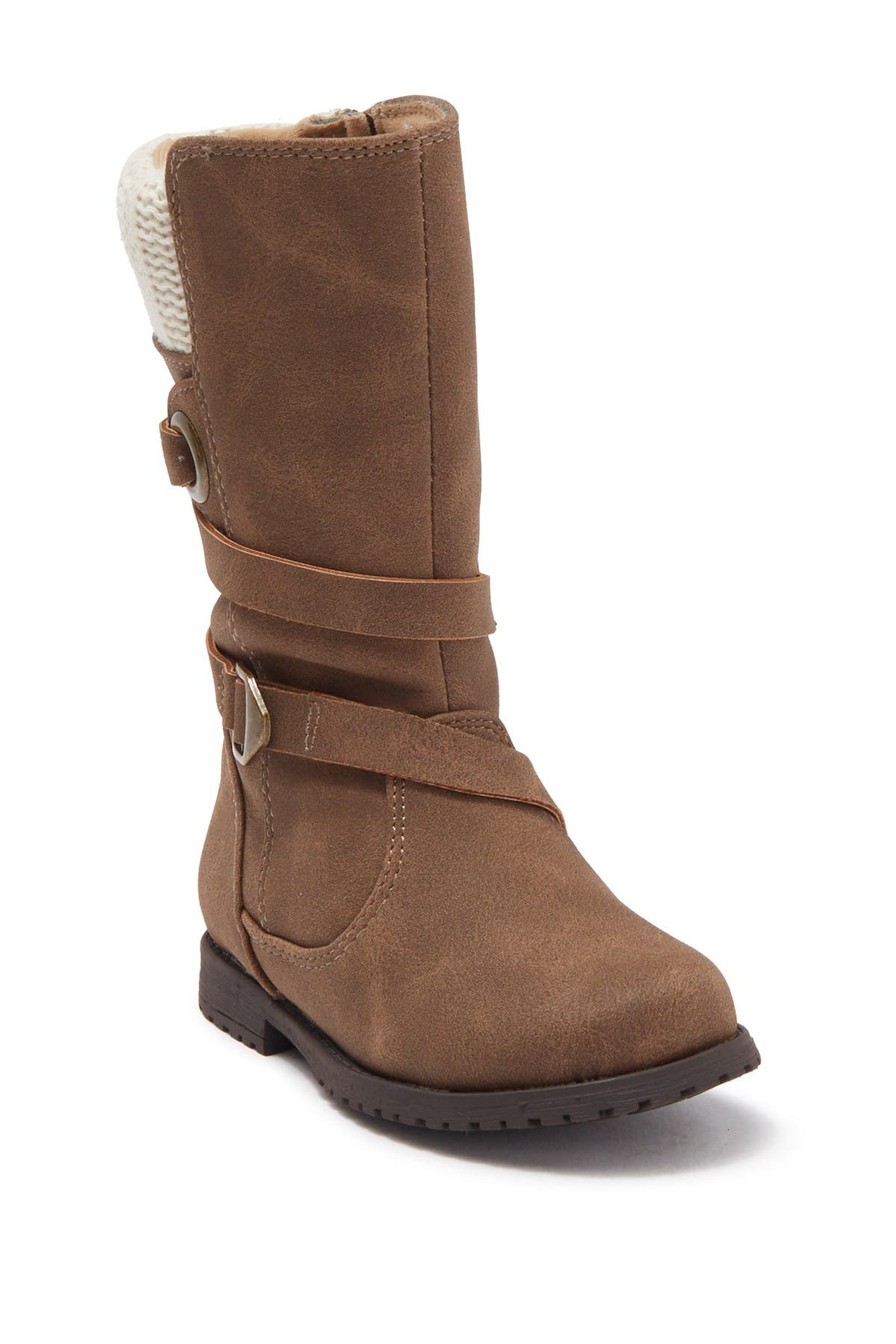 Image of Rachel Shoes Denv Knit Cuff Boot
