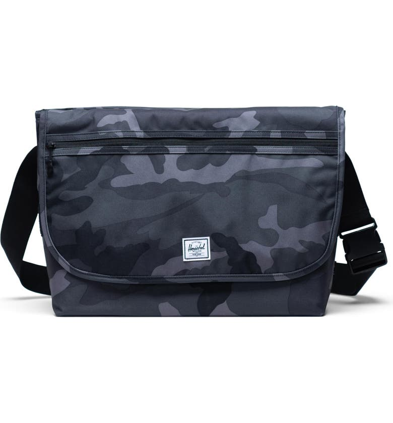 HERSCHEL SUPPLY CO. Grade Messenger Bag, Main, color, NIGHT CAMO