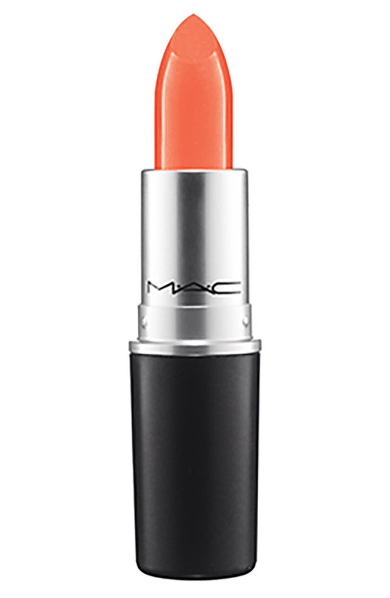 ,                             MAC Strip Down Nude Lipstick,                             Main thumbnail 86, color,                             099