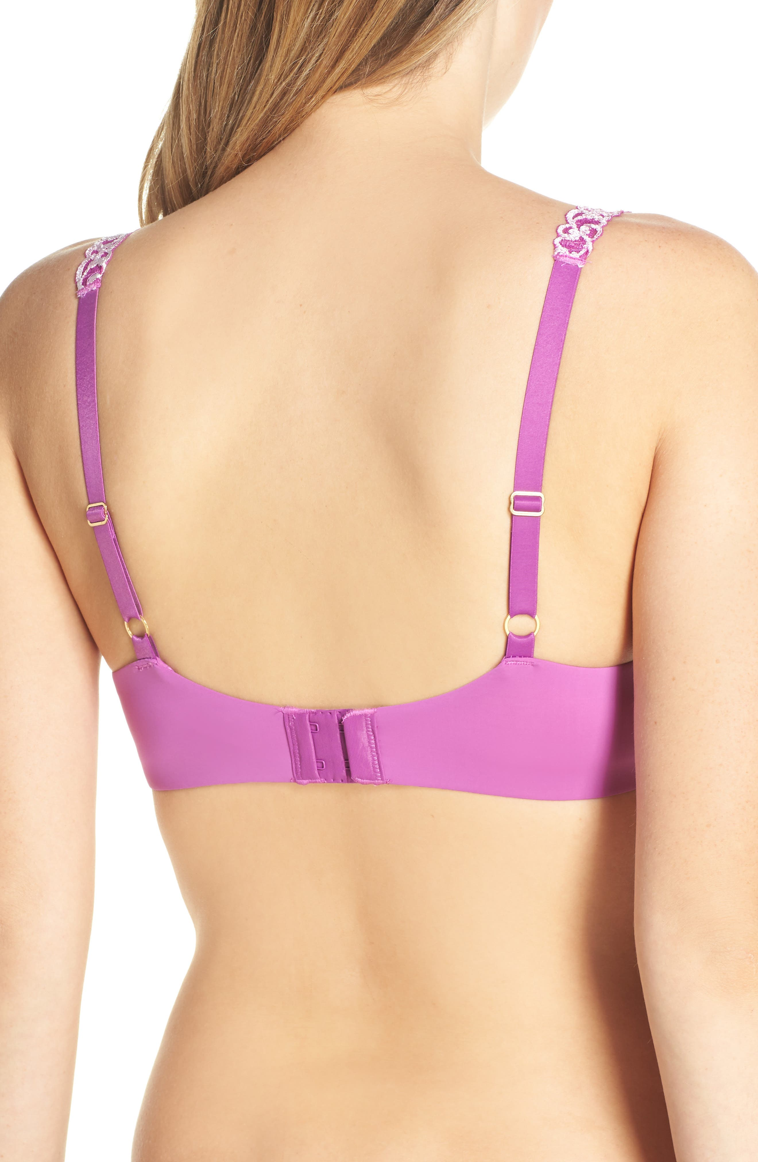,                             Pure Luxe Underwire T-Shirt Bra,                             Alternate thumbnail 244, color,                             509