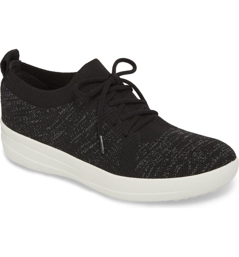 FITFLOP F-Sporty Uberknit<sup>™</sup> Sneaker, Main, color, 001