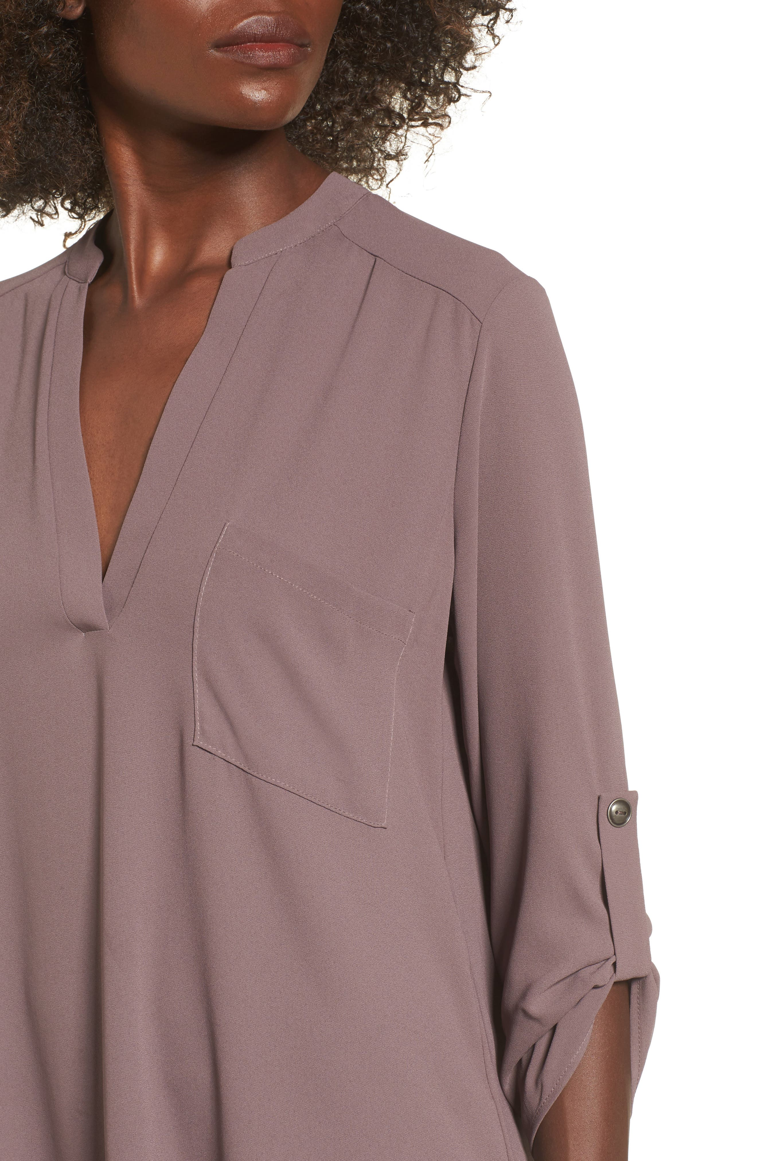 ,                             Perfect Roll Tab Sleeve Tunic,                             Alternate thumbnail 43, color,                             200