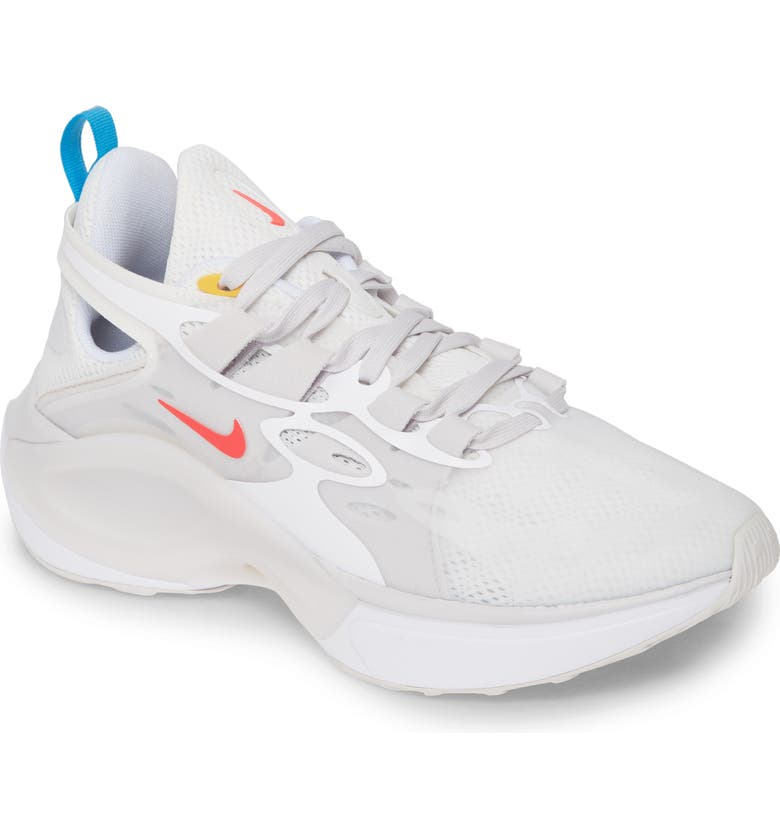 NIKE Signal D/MS/X Sneaker, Main, color, WHITE/ RED ORBIT/ WHITE