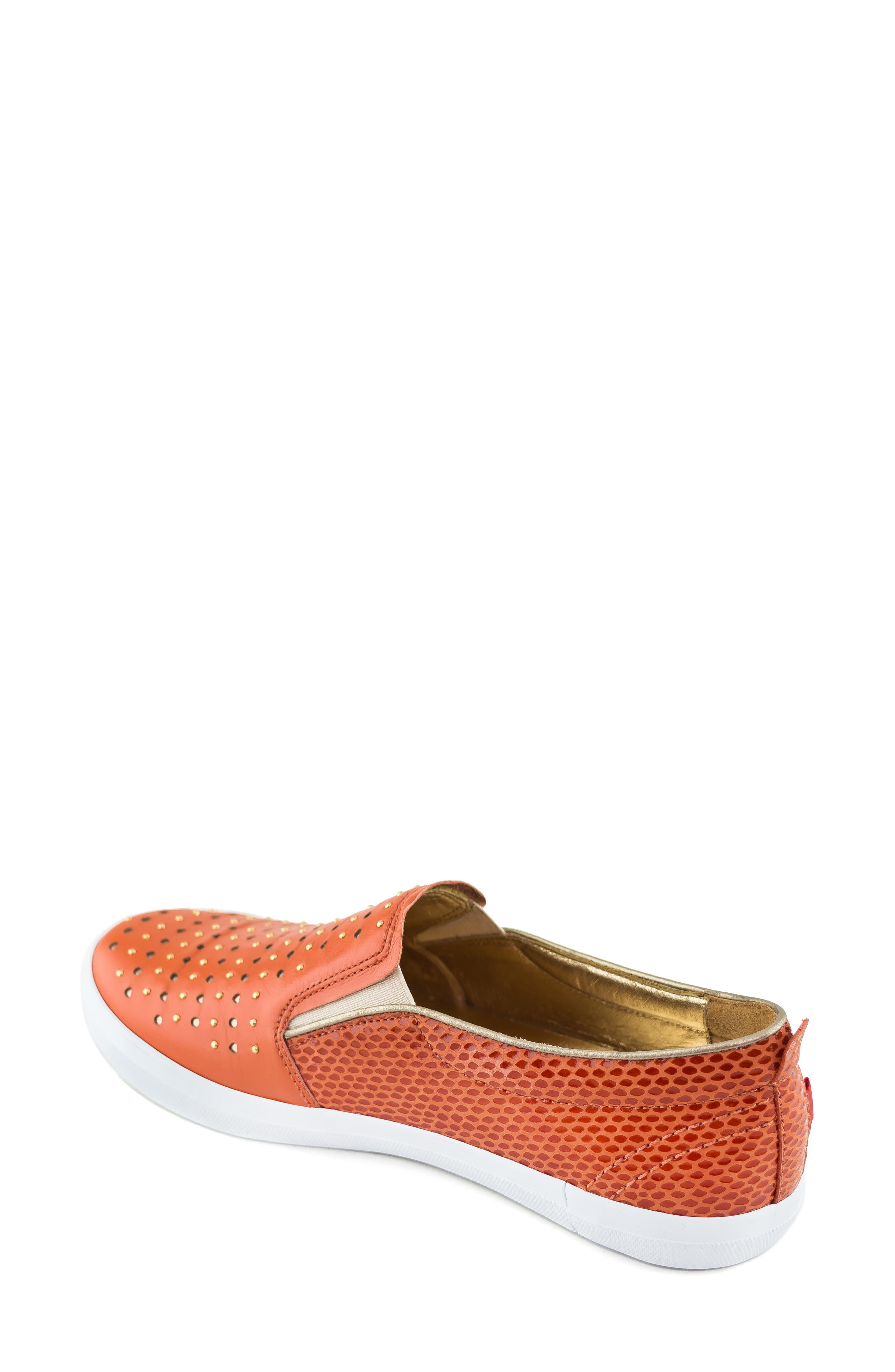 ,                             Soho Sneaker,                             Alternate thumbnail 2, color,                             CORAL LEATHER
