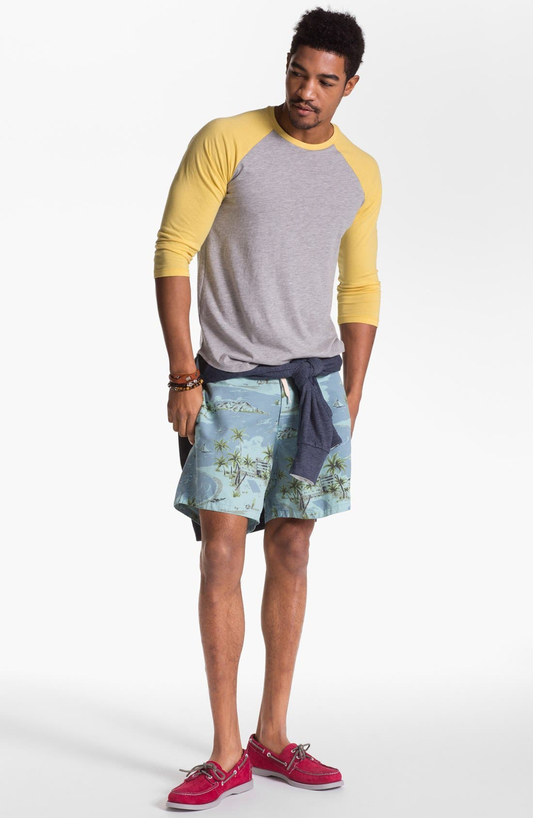 ,                             'Pelican' Print Board Shorts,                             Alternate thumbnail 2, color,                             425