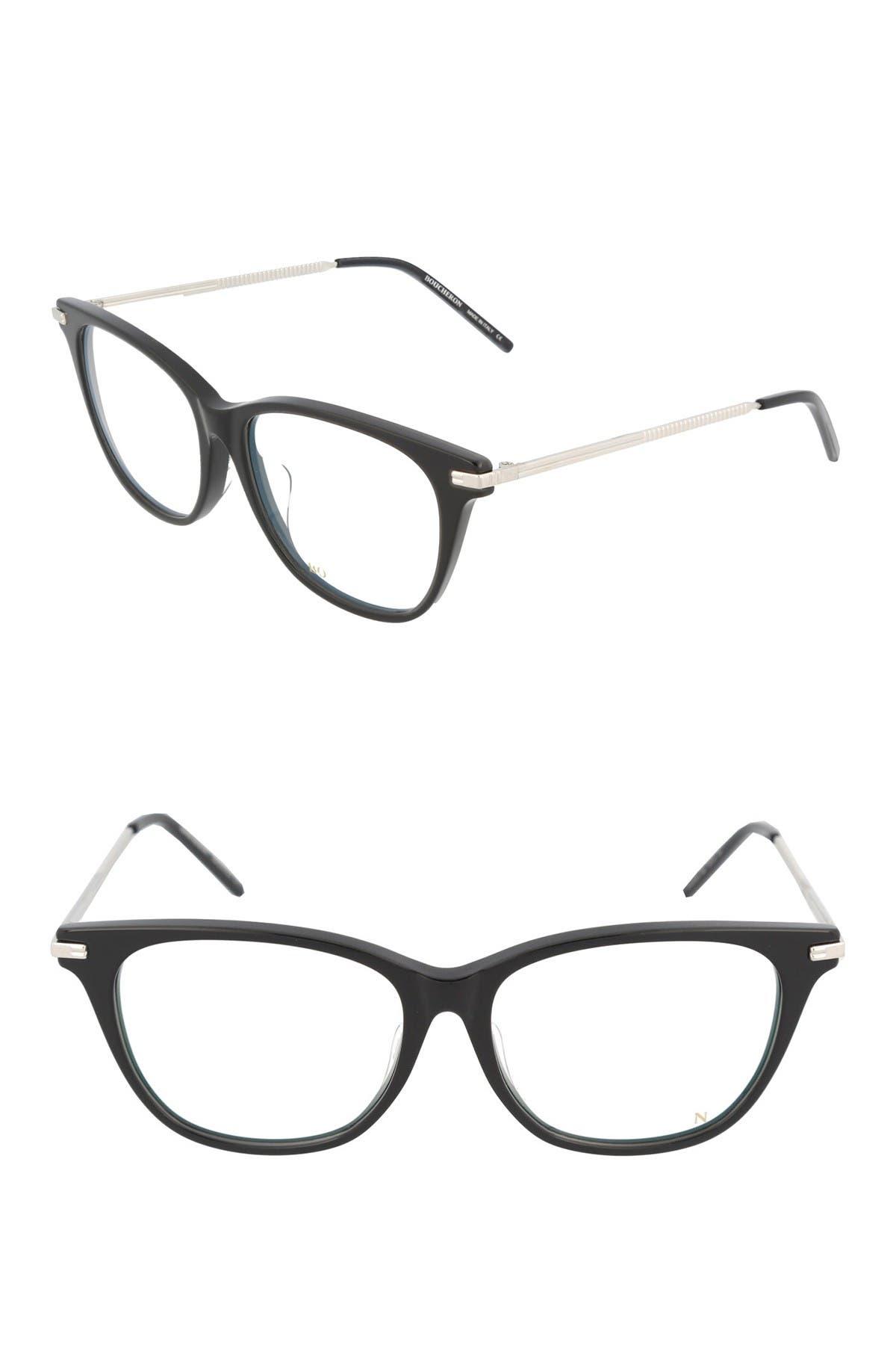 Image of Boucheron 54mm Square Cat Eye Optical Frames