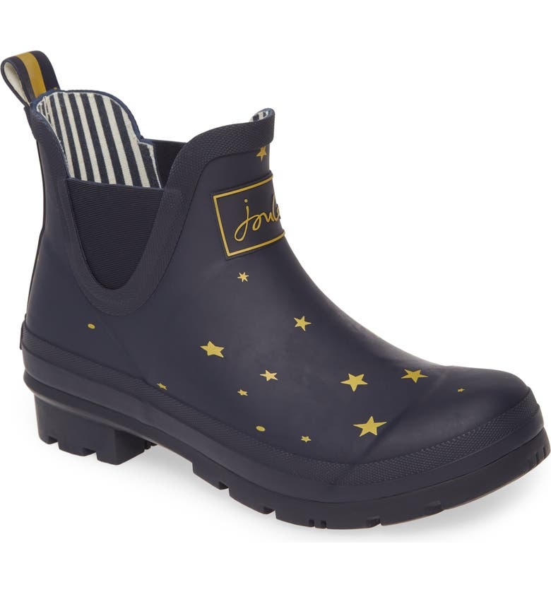 JOULES Wellibob Short Rain Boot, Main, color, STARGAZE