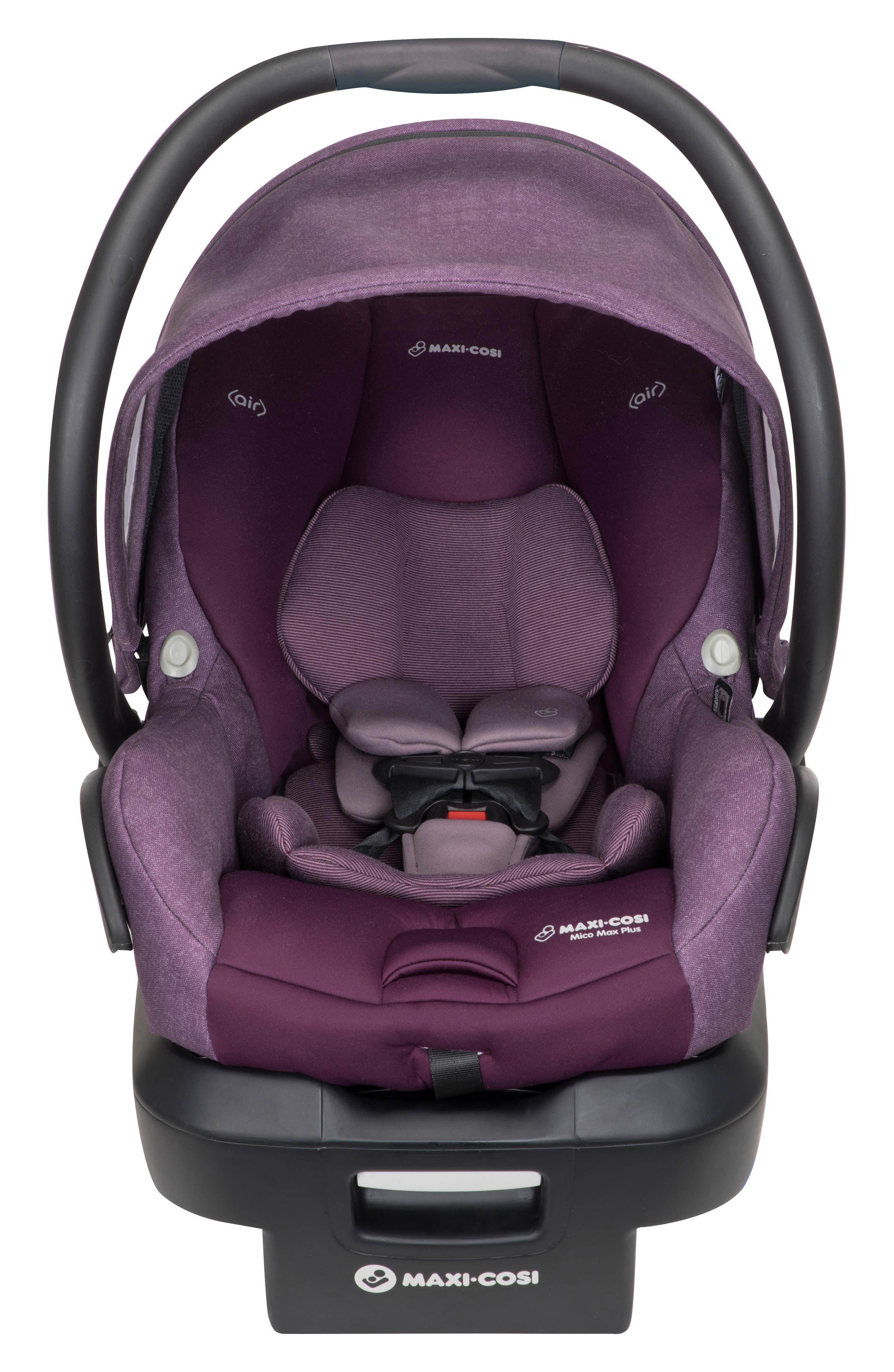 Infant MaxiCosi Mico Max Plus Infant Car Seat Size One Size  Purple