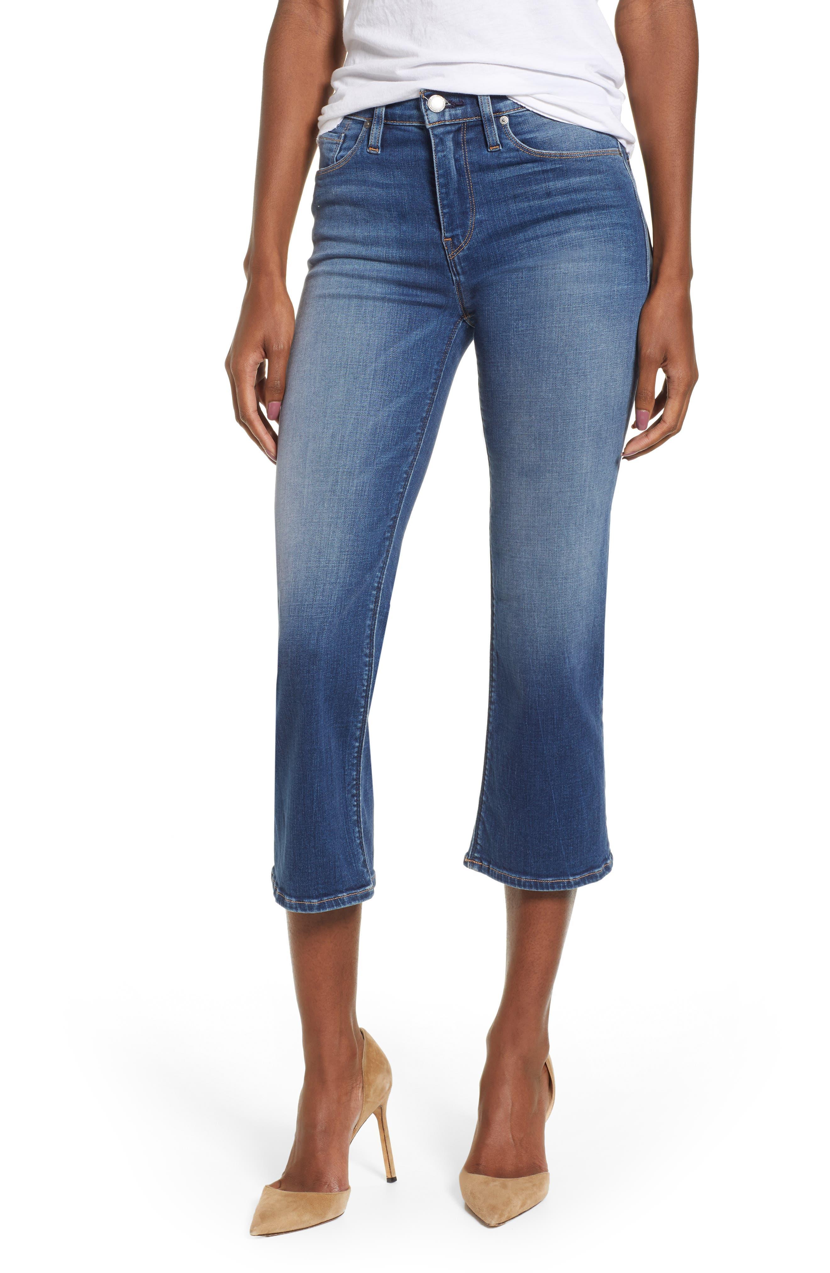 ,                             Stella Crop Straight Leg Jeans,                             Main thumbnail 8, color,                             420