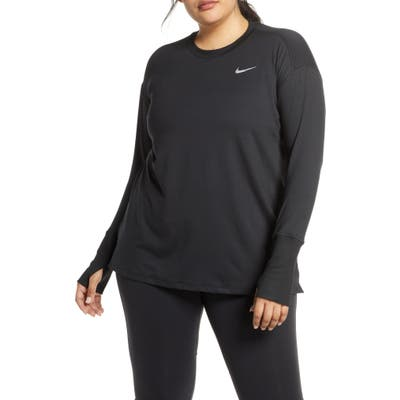 Plus Size Nike Dry Element Long Sleeve Top