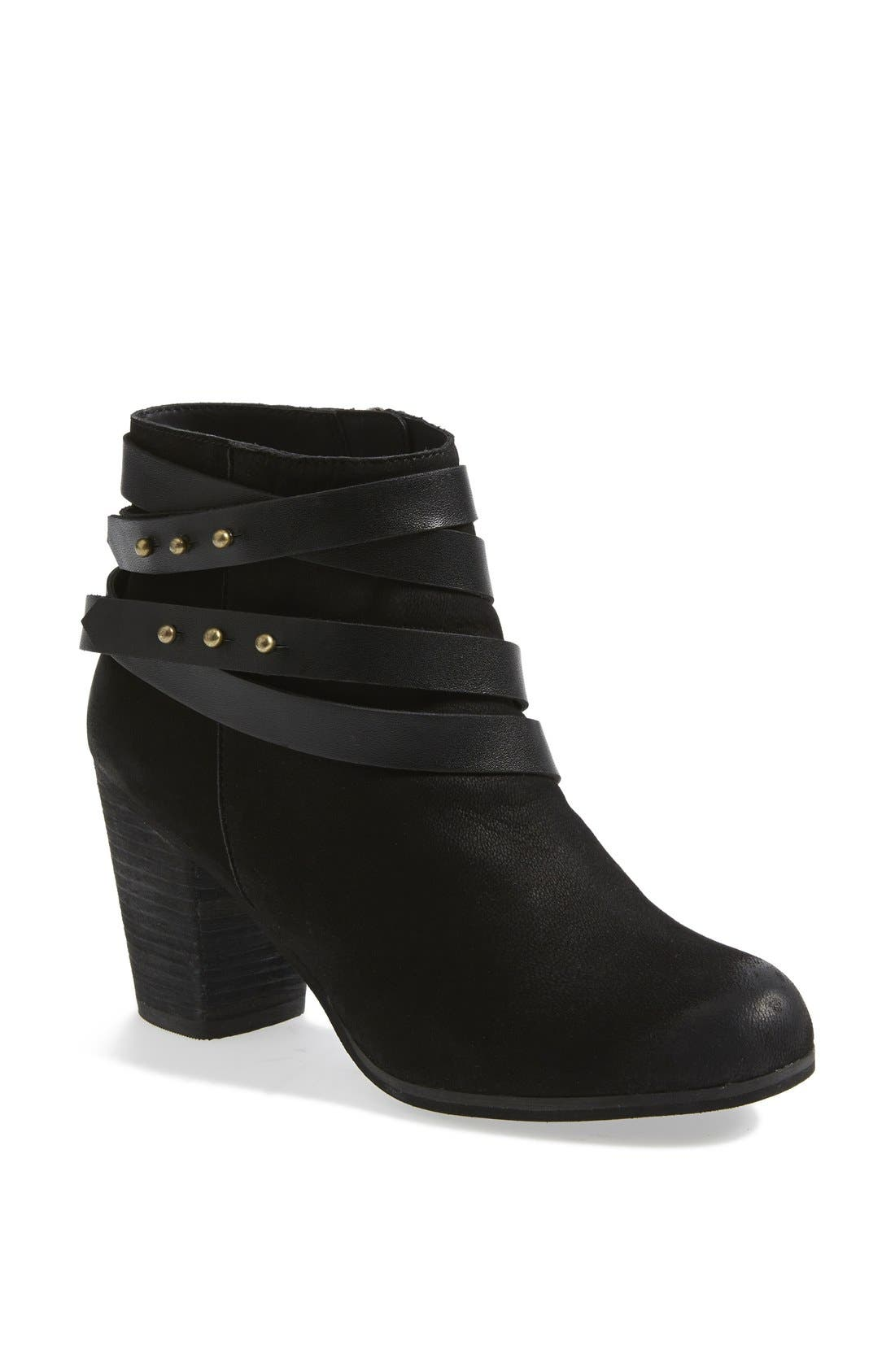 ,                             'Train' Wrap Belted Bootie,                             Main thumbnail 3, color,                             004