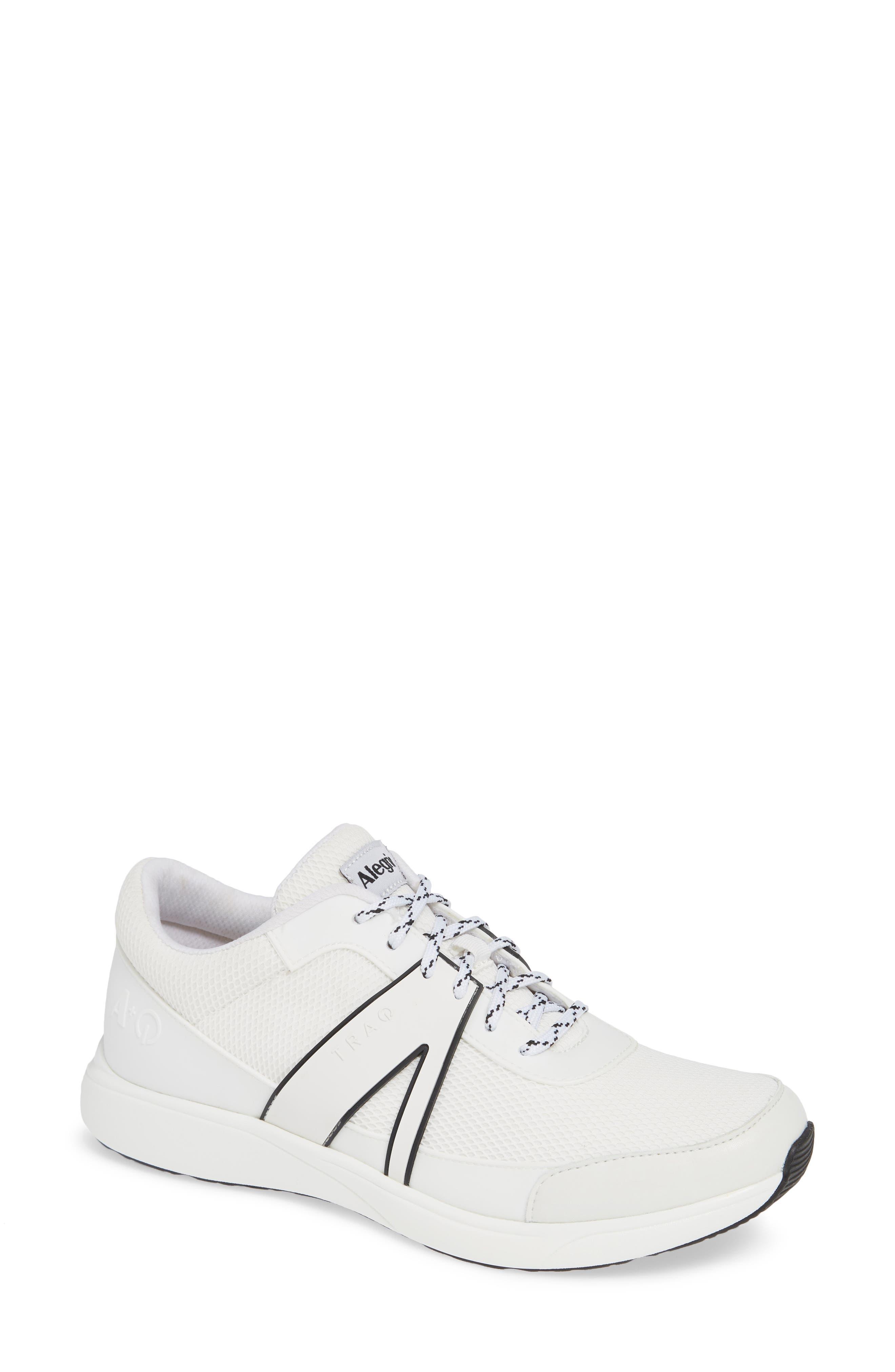 Alegria Qarma Sneaker, White