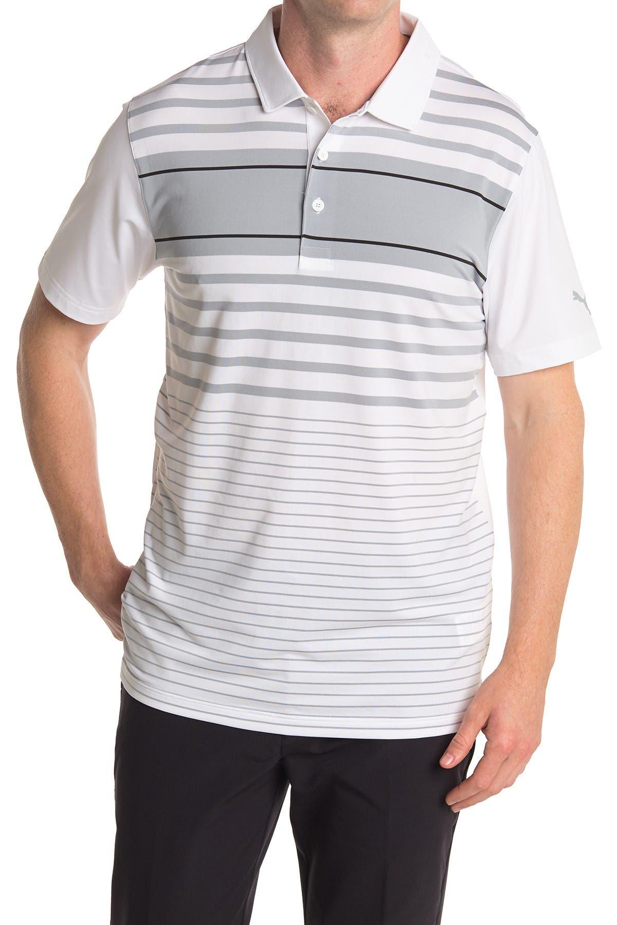 Image of PUMA Grey Spotlight Golf Polo