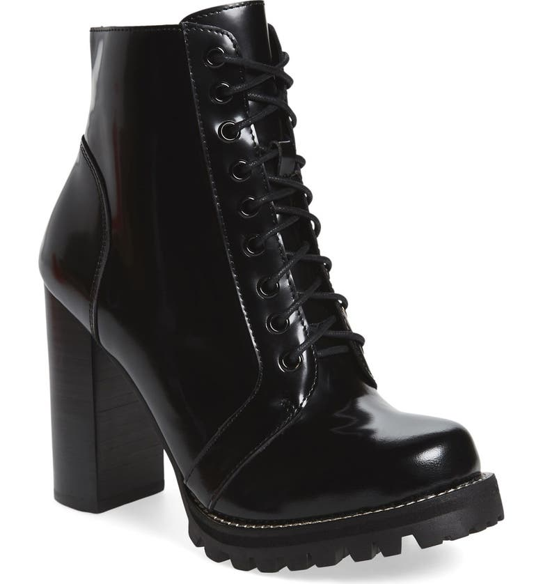 JEFFREY CAMPBELL 'Legion' High Heel Boot, Main, color, BLACK BOX LEATHER