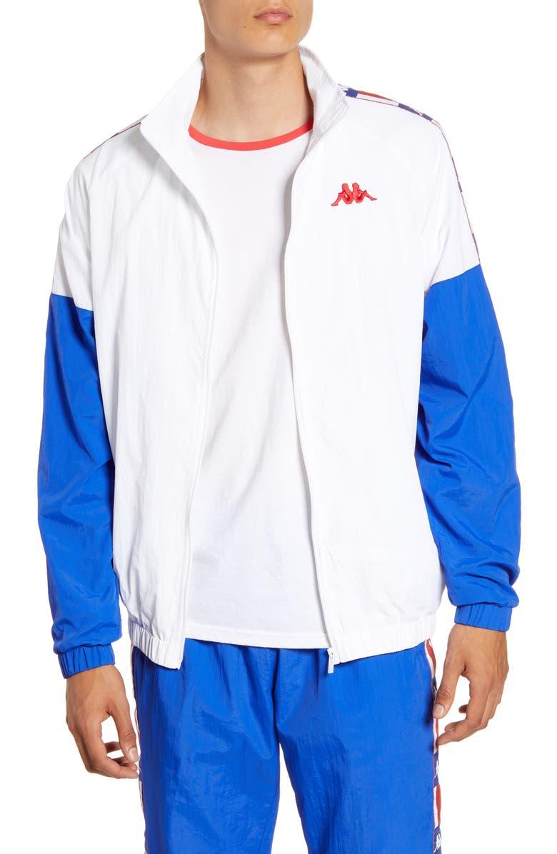 KAPPA Authentic LA Basalt Nylon Track Jacket, Main, color, 400