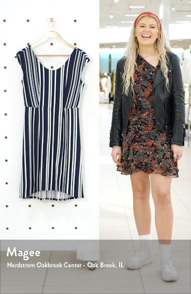 Anoche Stripe A-Line Dress, sales video thumbnail