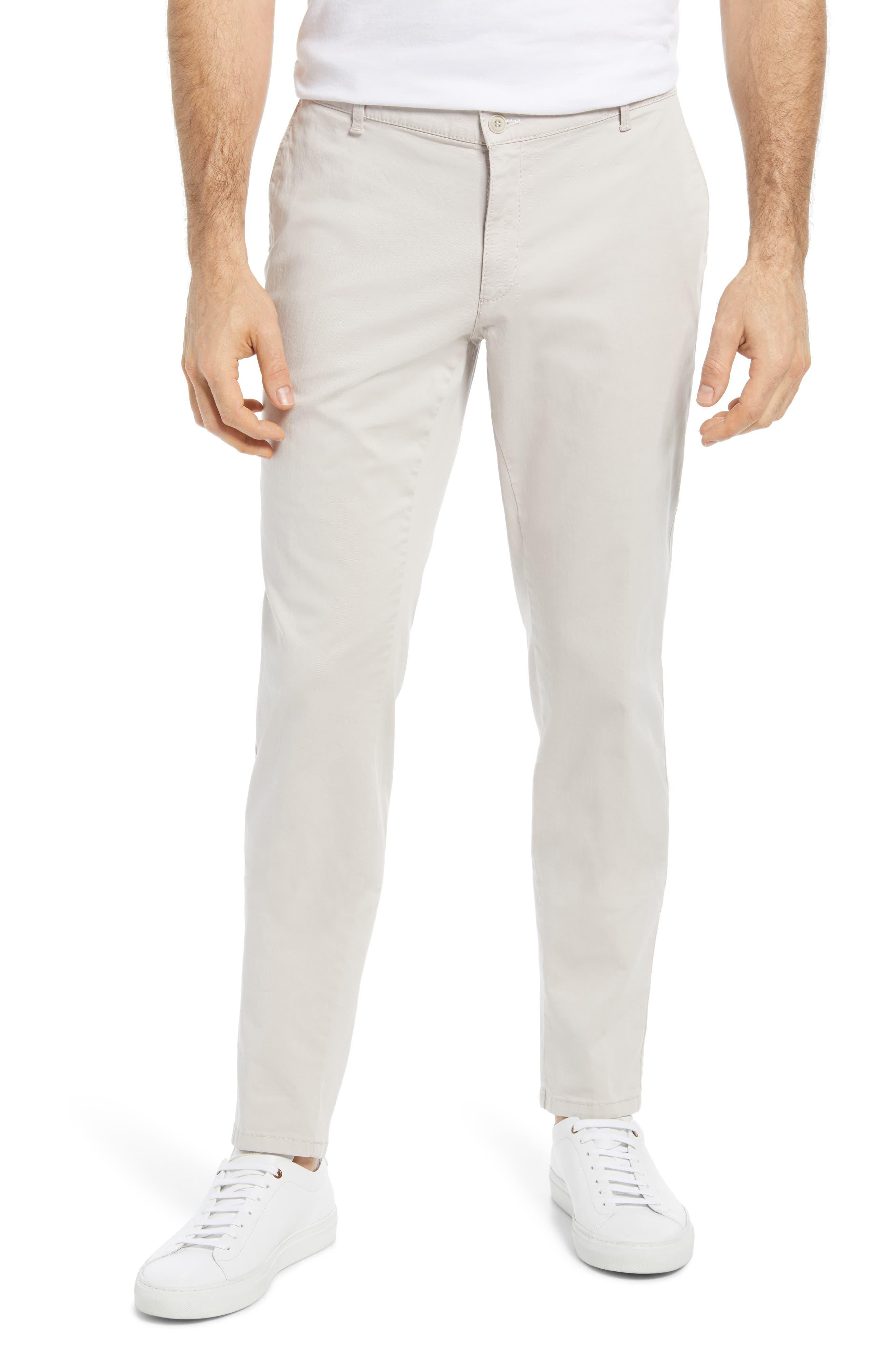 Silvio Stretch Cotton Chino Pants