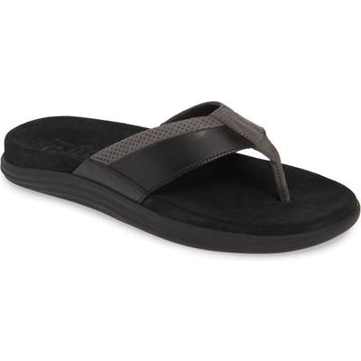 Sperry Gold Cup Amalfi Flip Flop, Black