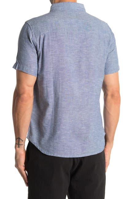 Image of BRIDGE AND BURN Jordan Heathered Short Sleeve Shirt