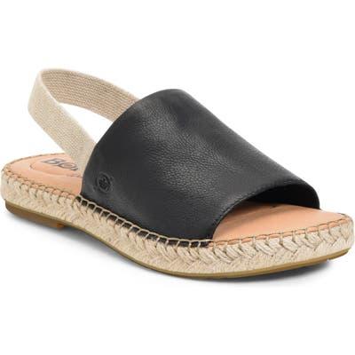 B?rn San Isabel Slingback Sandal, Black