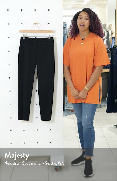 Cameron Seasonless High Rise Crop Pants, sales video thumbnail