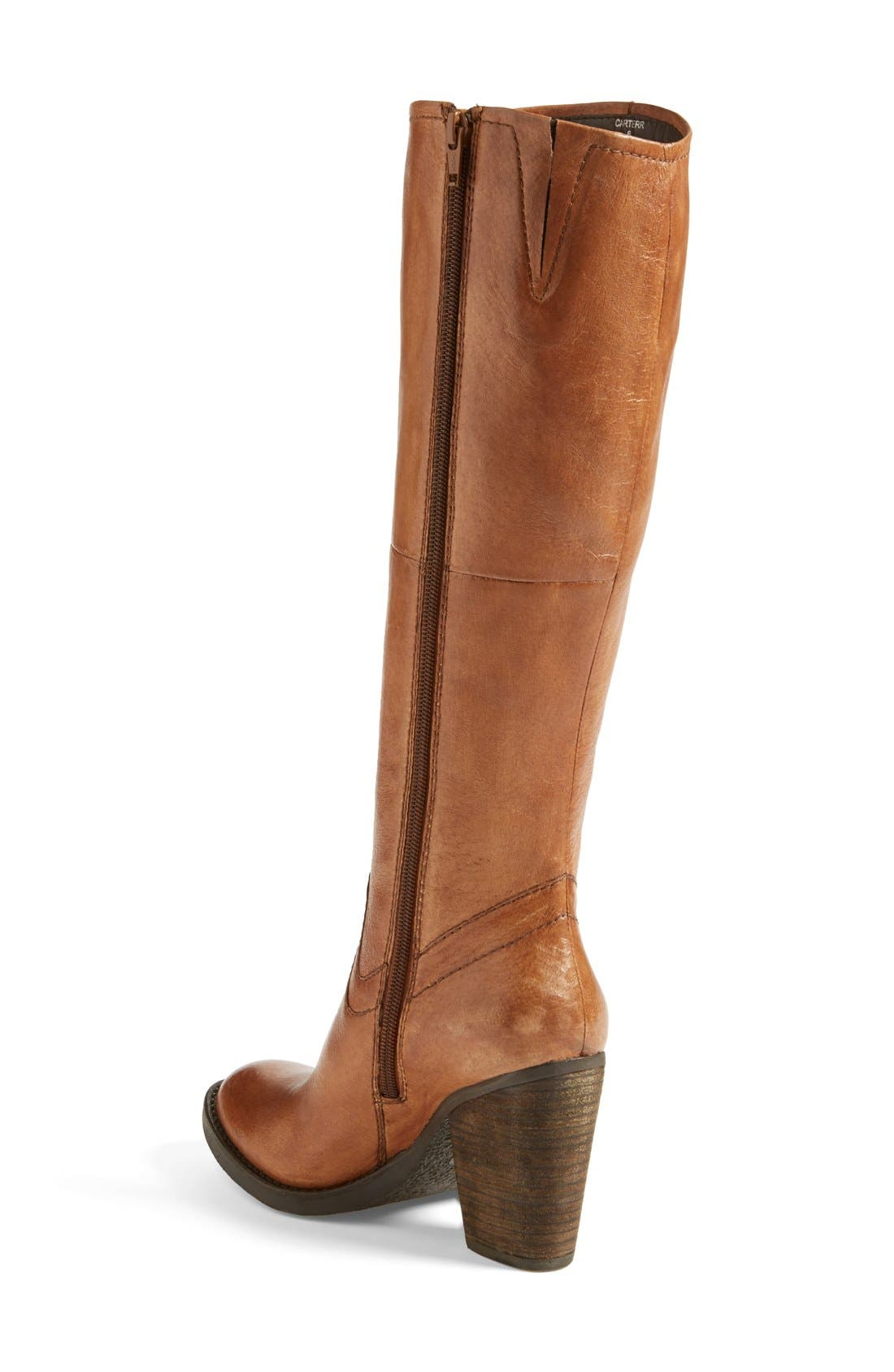 ,                             'Carrter' Knee High Leather Boot,                             Alternate thumbnail 10, color,                             203