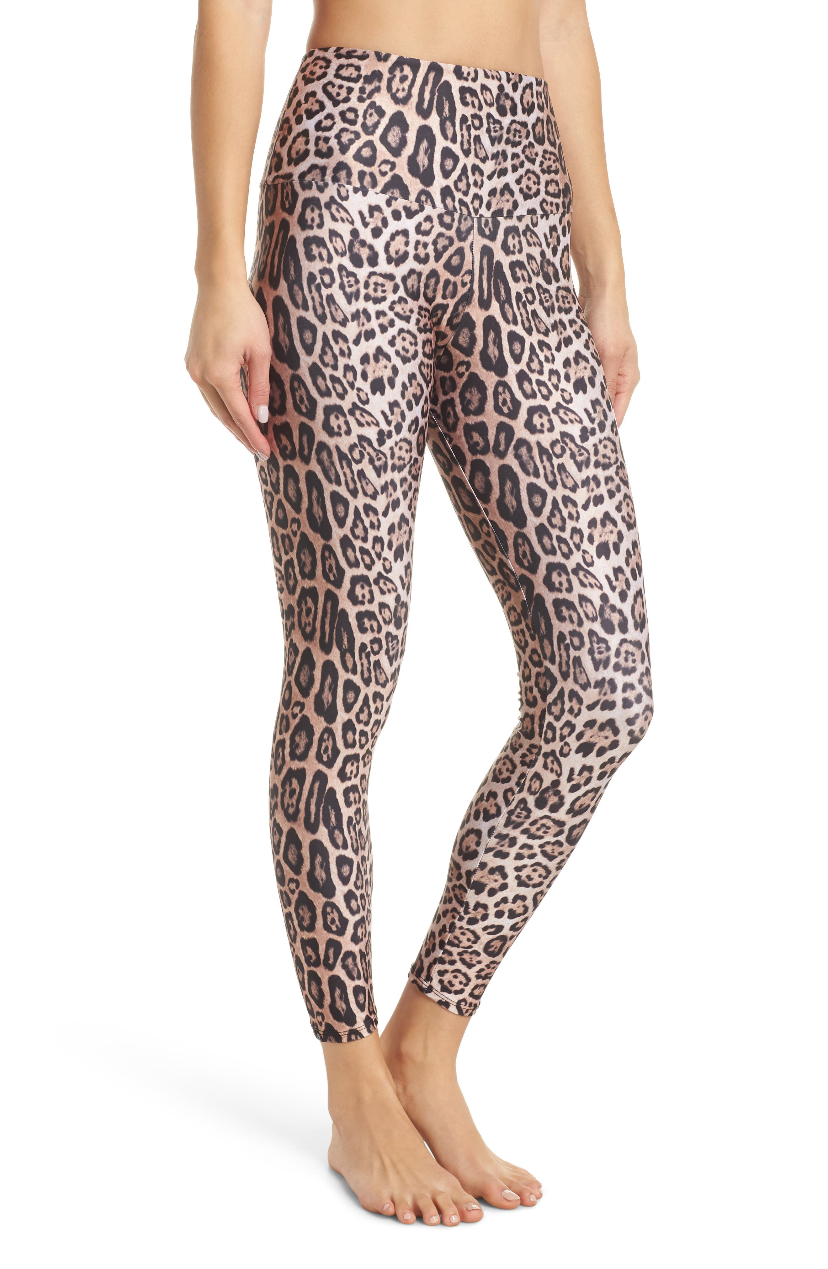 Onzie High Rise Capris, Brown