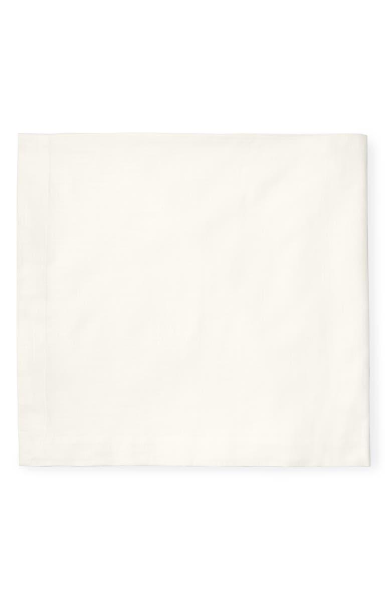 SFERRA Cartlin Square Tablecloth, Main, color, IVORY