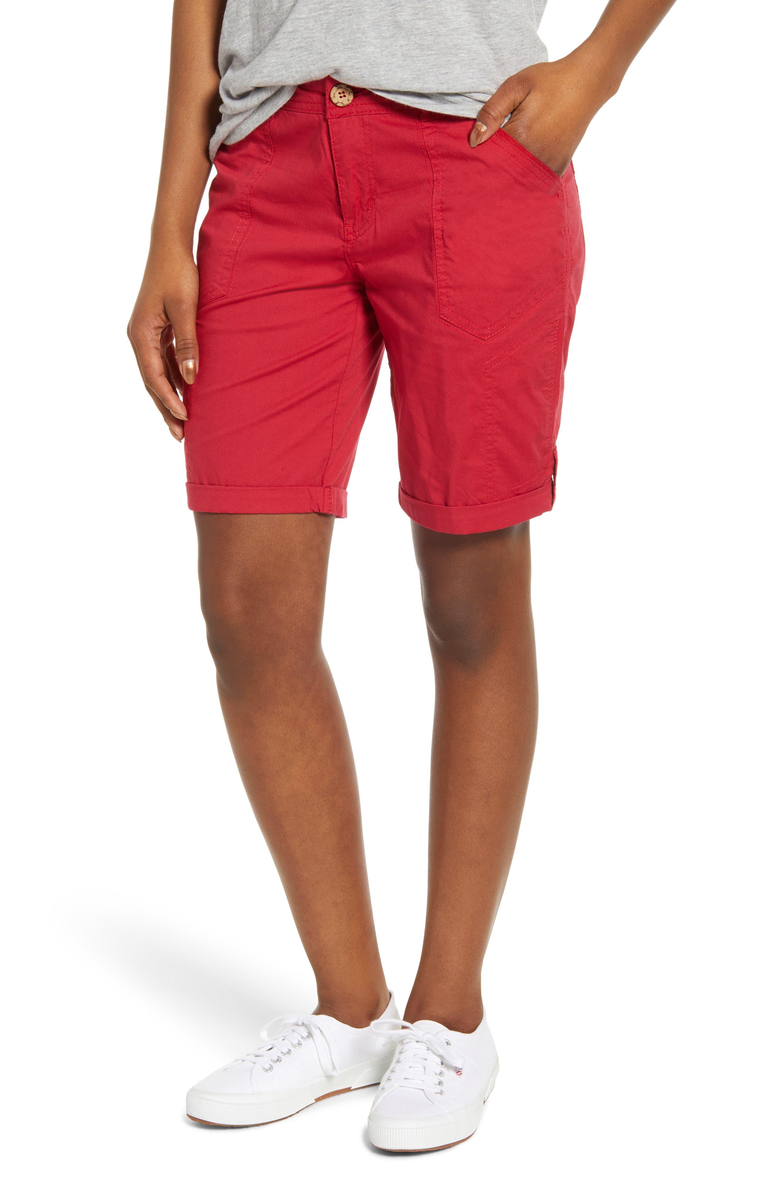 Women's Wit & Wisdom Flex-Ellent Stretch Cotton Bermuda Shorts