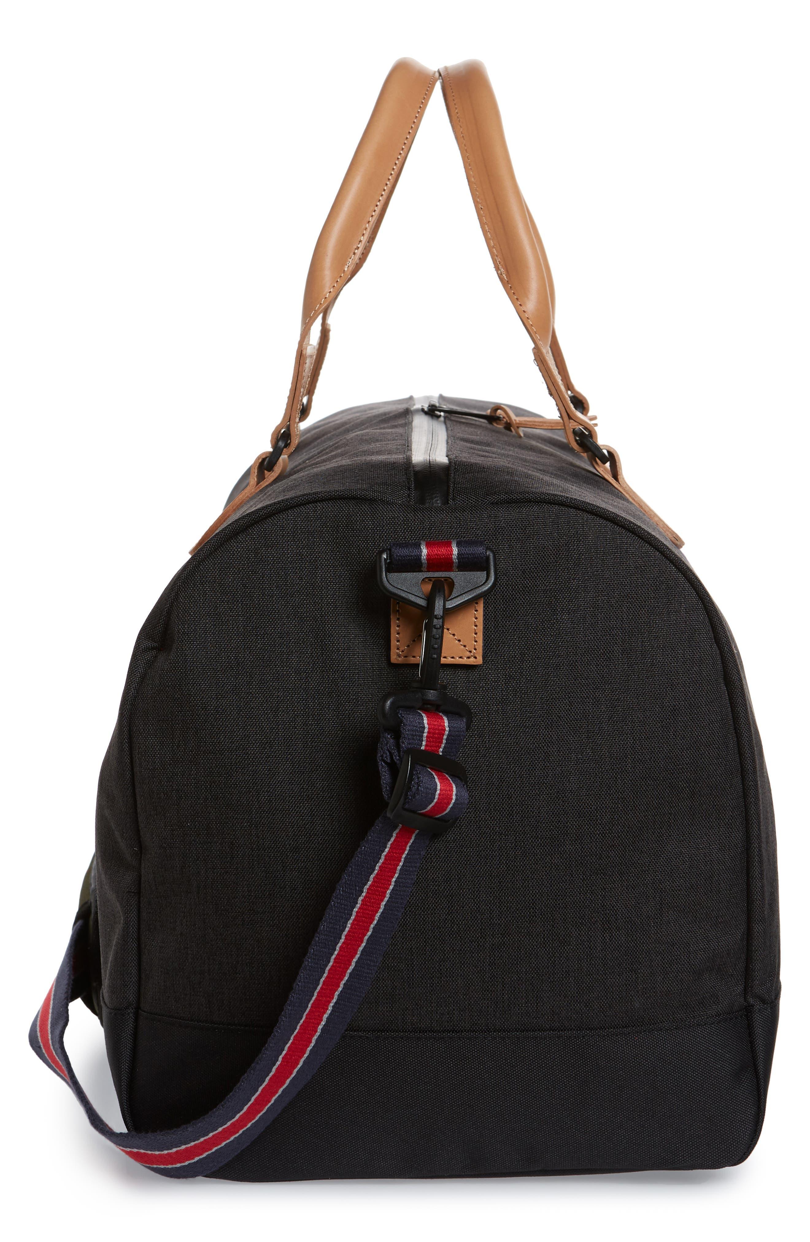 ,                             Novel Duffle Bag,                             Alternate thumbnail 7, color,                             BLACK CAMO OFFSET