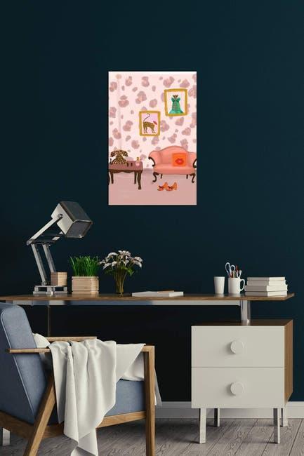 Image of iCanvas Cheetah Room by Bouffants & Broken Hearts