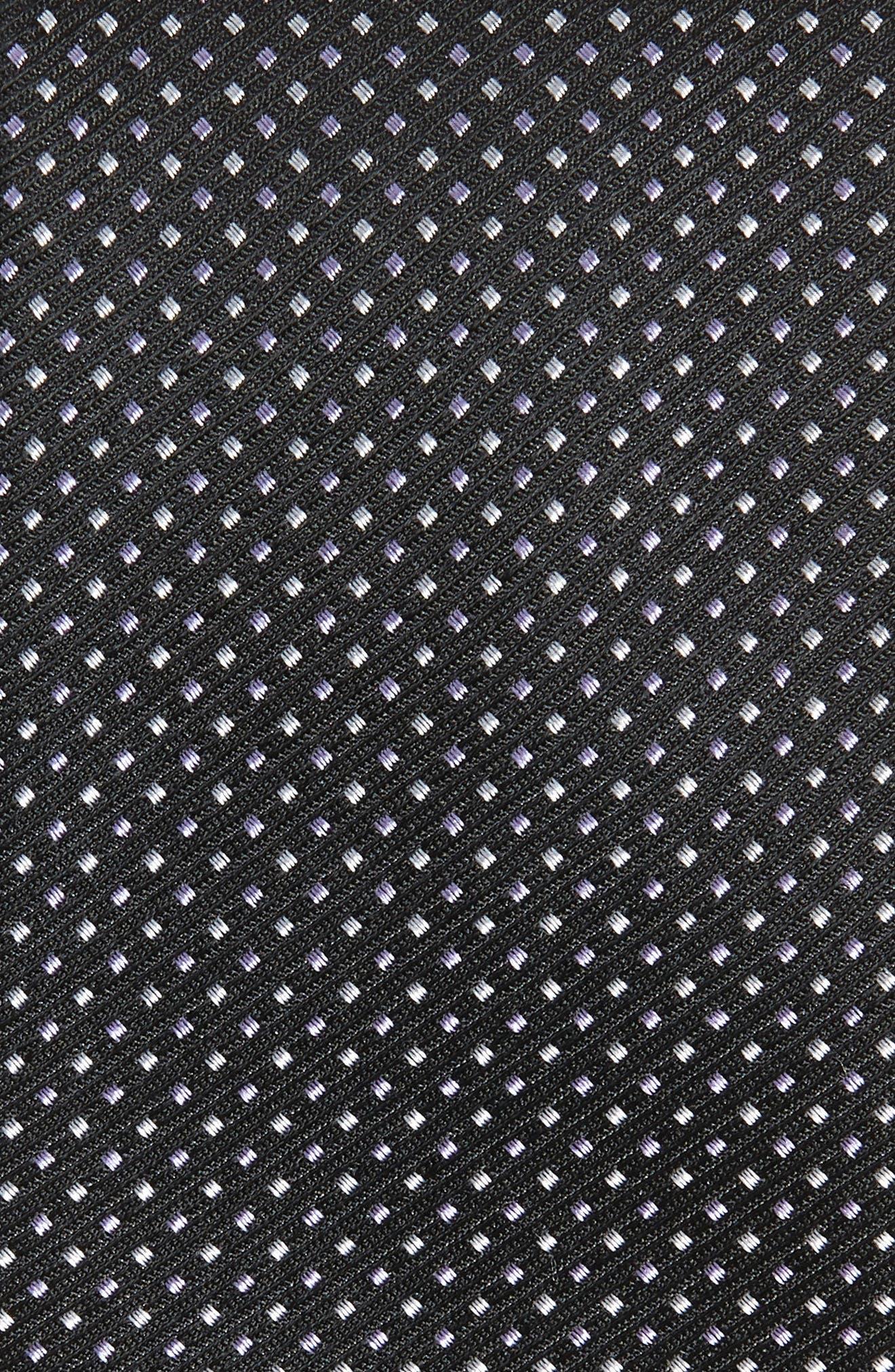 ,                             Alabaso Dot Silk Tie,                             Alternate thumbnail 2, color,                             BLACK