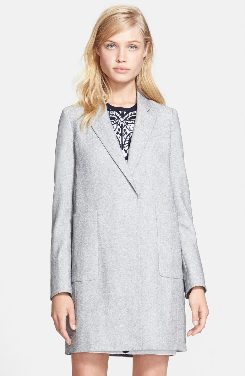 MCGINN 'Vivian' Oversized Boyfriend Coat, Main, color, 051